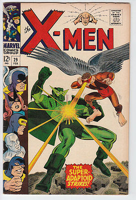 X-MEN Uncanny # 29 1967 SUPER-ADAPTOID VFN-