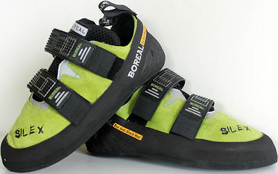 Brand New Rock Climbing Shoes Outdoor Sport Equipment BOREAL Silex Velcro Spain