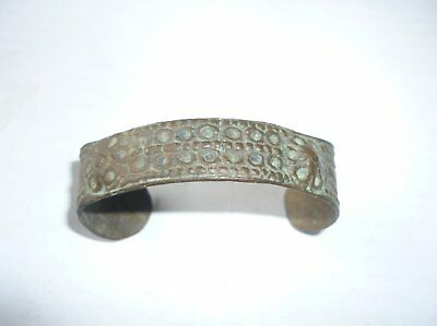 Antique Ottoman Empire Brass Bracelet 18 Century