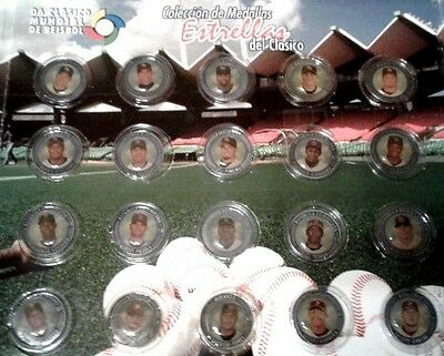 Set 20 MEDAL 2006 WORLD BASEBALL CLASSIC San Juan PUERTO RICO Mint Unopened W@W