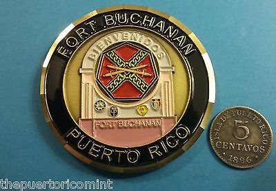 SOLD OUT discontinued GUAYNABO Puerto Rico FORT BUCHANAN Reserve Guard ARMY