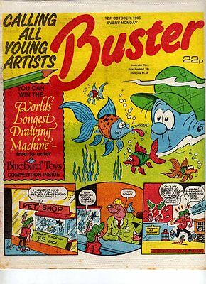 Uk Comic - Buster - 12 Oct 1985