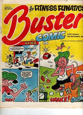 Uk Comic - Buster - 28 Sept 1985