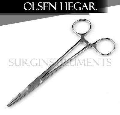 "2 Baby Olsen Hegar Needle Holder 4.75"" Surgical Dental Veterinary Instruments"