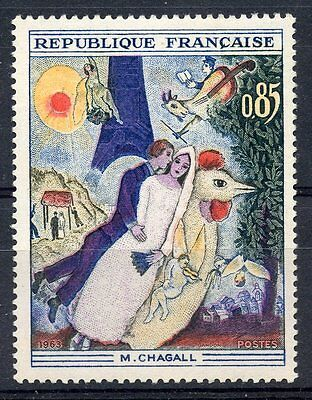 Stamp / Timbre France Neuf Luxe °° N° 1398 ** Tableaux Chagall