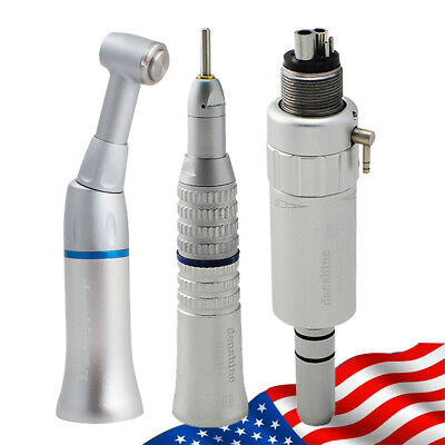 Fit NSK Dental Slow Low Speed Handpiece Complete Kit Push Button 4Hole 4H E-type