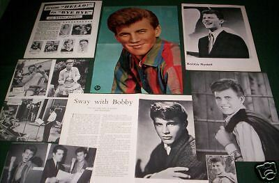 Bobby Rydell -Music   Clippings /cuttings