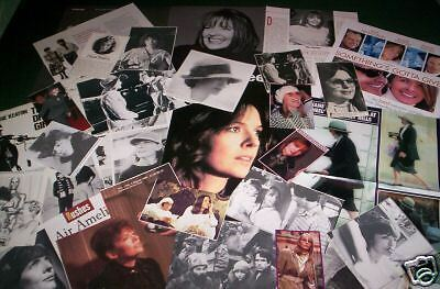 Diane Keaton  - Film Star - Clippings Cuttings Pack