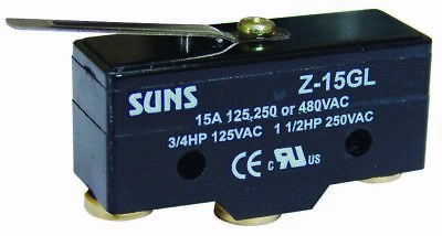 SUNS International Z-15GL Lever 15A Micro Switch