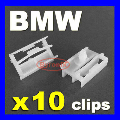 BMW SIDE SILL SKIRT TRIM CLIPS FASTENERS E36 E46 3 Series & E90 E91 EXTERIOR