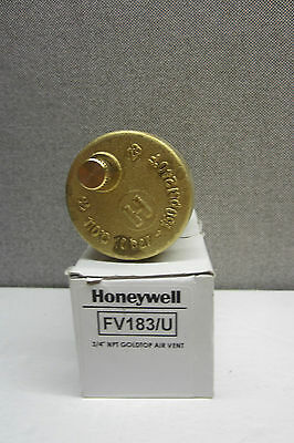 New Honeywell Fv183/u Gold Top Air Vent Fv183U