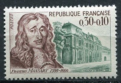Stamp / Timbre France Neuf Luxe ** N° 1471 ** Celebrite Francois Mansart