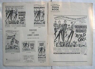 HERMAN 'S HERMITS/HOLD ON/ pressbook