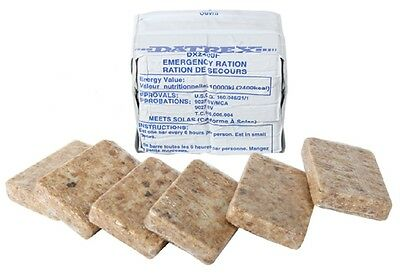 DATREX 2400 CALORIE (12-200 CALORIE BARS) EMERGENCY FOOD RATION -1 BOX = 12 BARS