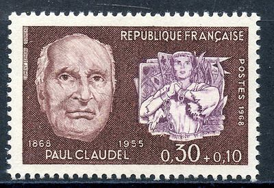 Stamp / Timbre France Neuf Luxe ** N° 1553 ** Celebrite /¨Paul Claudel
