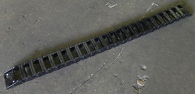 """Subaki TKP0350 Cable Carrier 30"""" Long w/ End Brackets, 21 Links, Nice, Used"""