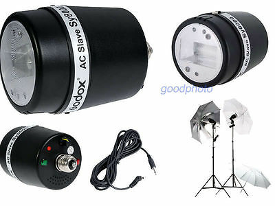 SY8000 Photo Studio Strobe Light AC Slave Flash Bulb 220V-240V For DSLR Camera
