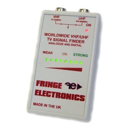 Fringe  Worldwide Digital Freeview TV Aerial Alignment Meter Signal Finder