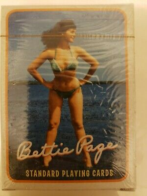 Bettie Page Standard Playing Cards 2006