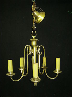 Chandalier Antique French Provincial  5 Arm Light #715-12