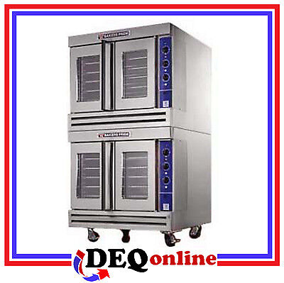 Bakers Pride BCO-E2 Commercial Double Deck Electric Convection Oven