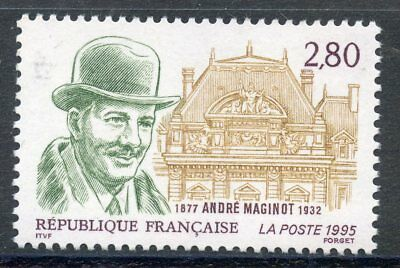 Stamp / Timbre France Neuf N° 2966 ** Andre Maginot