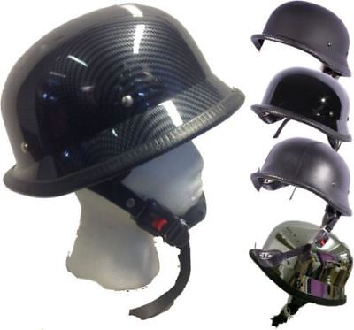 Open Face Classic  German Style Motorcycle Scooter Cruiser  Helmet