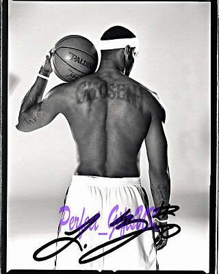 LEBRON JAMES SIGNED AUTOGRAPHED 10X8 PP RE PRO PHOTO PRINT Chosen 1 Basketball