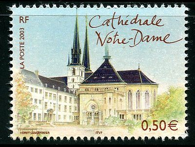 Stamp / Timbre France Neuf N° 3624 ** Capitale / Cathedrale Notre Dame