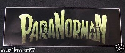 SDCC Comic Con 2012 EXCLUSIVE    ParaNorman Bumber sticker