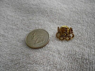 Vintage Olympic USA Gold Tone Pin