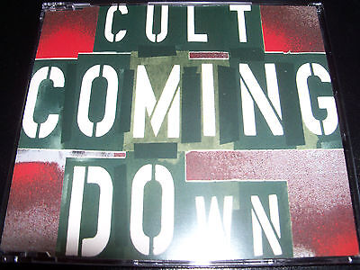 The Cult Coming Down Rare 4 Track Printed In Holland CD Single - Like New