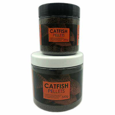 JMC CATFISH SINKING PELLETS 100g 200g 400g 850g FOOD TROPICAL COLDWATER FISH
