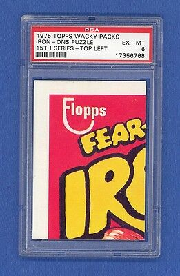 1975 Topps Original   Wacky Packages 15th Series  Puzzle Piece  Top Left  PSA 6