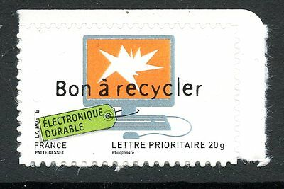 Stamp / Timbre France  N° 4208 ** Environnement Bon A Recycler  / Autoadhesif