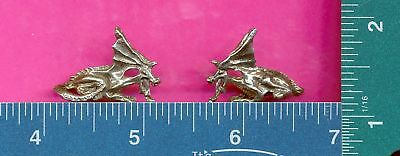 lead free pewter laying dragon figurine m11094