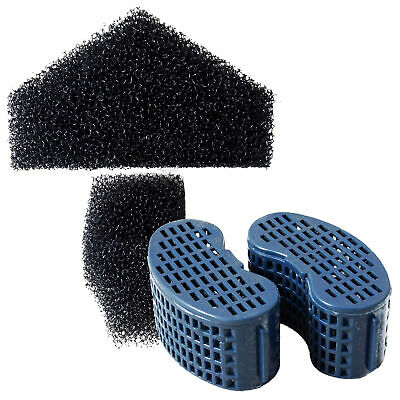 Elite Stingray Foam + Carbon Combo Pack Set 5 10 15 Fish Tank Filter Media
