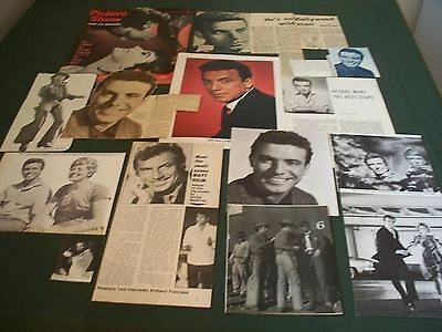 Anthony Franciosa  - Film Star - Clippings/cuttings Pack