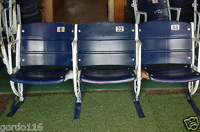 Texas Stadium Dallas Cowboys Game USED seats #8, 22, 88 memorabilia collectible
