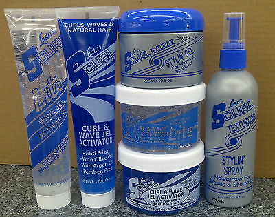 S-Curl Hair Texturizer Styling Products