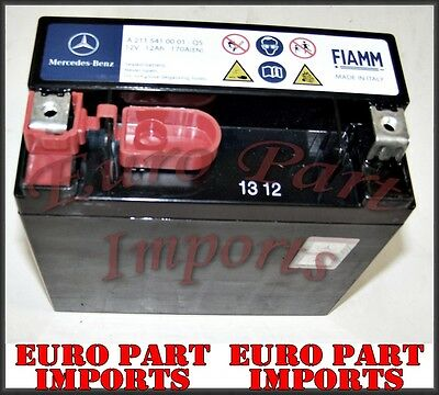 Backup Battery Mercedes W216 CL Class 12V 1.2Ah Auxiliary AUX C216 N000000004039