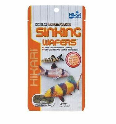 HIKARI SINKING WAFERS 25g 50g 110g CATFISH LOACHES BOTTOM FEEDER FISH TANK FOOD
