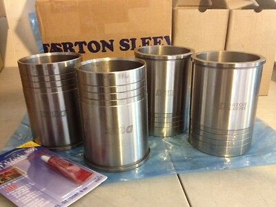 Darton Dry Block Sleeves with Flange Honda D16 Civic EG EK