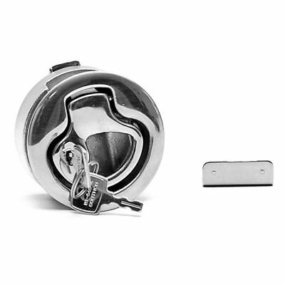 Southco M1 Series Flush Pull Stainless Steel Locking Boat Latch