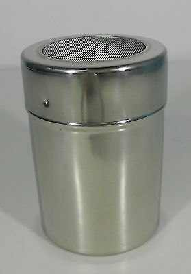 Coco Shaker/Sifter/Dredge Cappuccino Icing Sugar Large Stainless Steel Mesh
