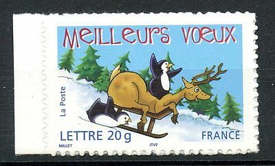 Stamp / Timbre France Neuf N° 3855 ** Meilleurs Voeux Emis En Carnet Adhesif