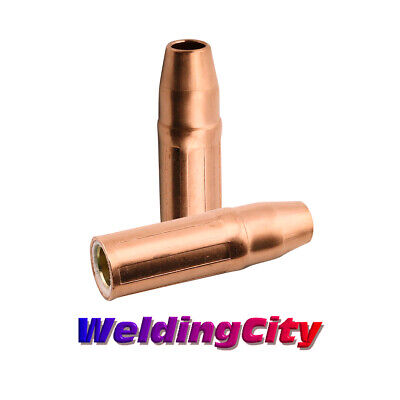 """WeldingCity 2 Nozzles 23-50 (1/2"""") for Tweco Lincoln 200-400A MIG Welding Guns"""