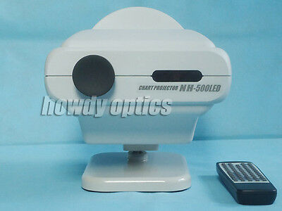 Auto chart projector Ophthalmic projector LED lamp Full optotypes New