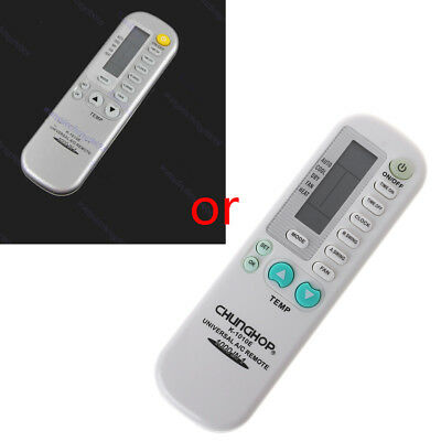 SILVER Universal Aircon AC Air Conditioner REMOTE Control Multibrand 1000 in 1