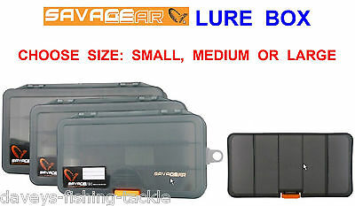 Savage Gear Lure Box For Game Sea Coarse Fishing Lures Mepps Rotex Spinners Etc